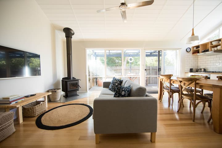 Bright, comfortable living space