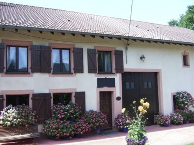 Chambre fleuries au cœur des Vosges