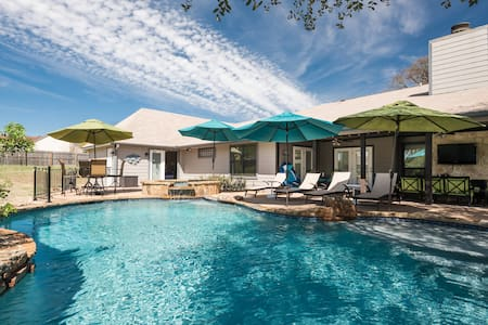 Pool House on Twin Creeks (Austin) - Manchaca - Guesthouse