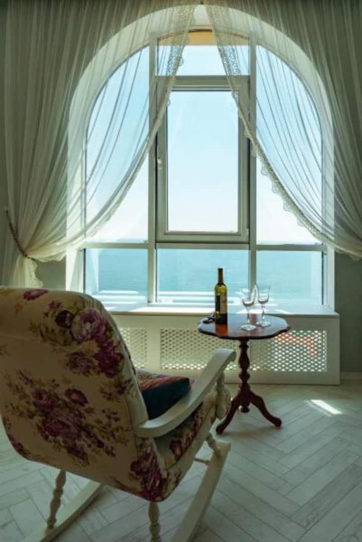 VIP apartment with best sea view inOdessa 20 floor