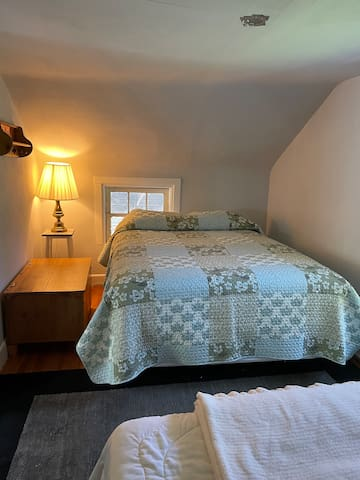 Bedroom #2 also has 2 queen beds and AC