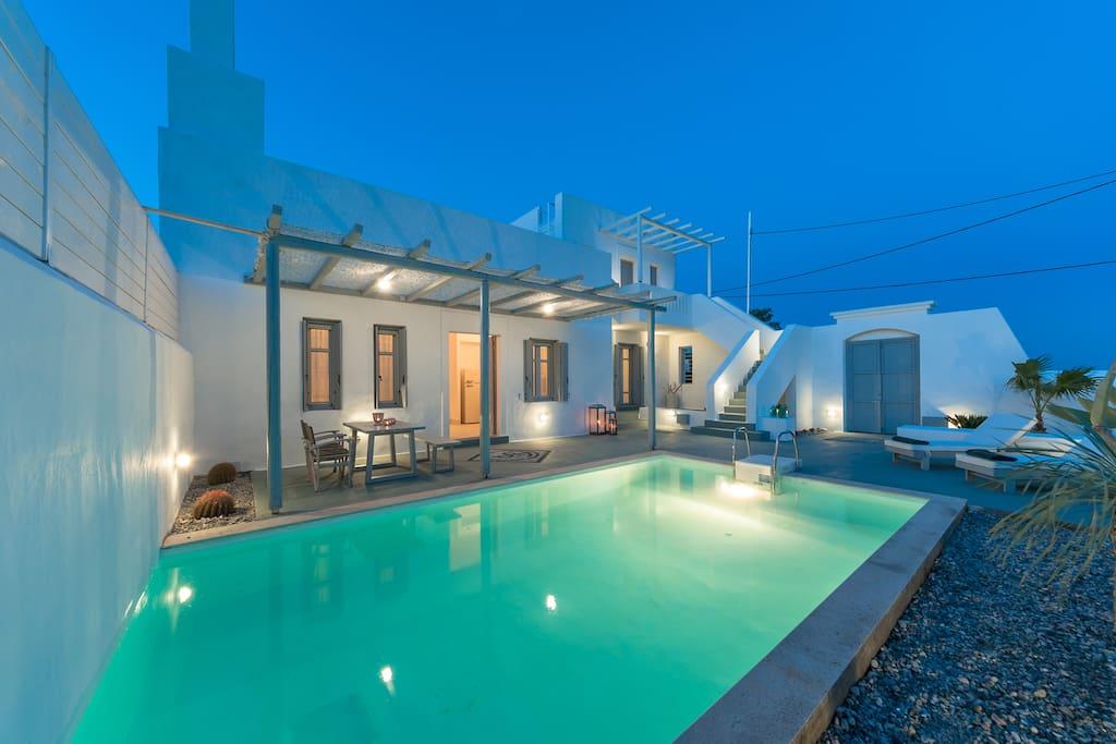 White Village - The private pool