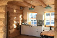 Cosy double room in the log house by the forest