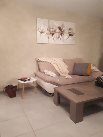 Chambre privée/appart entier cosy residence neuve