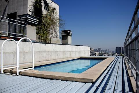 Le loft le plus frais de Santiago