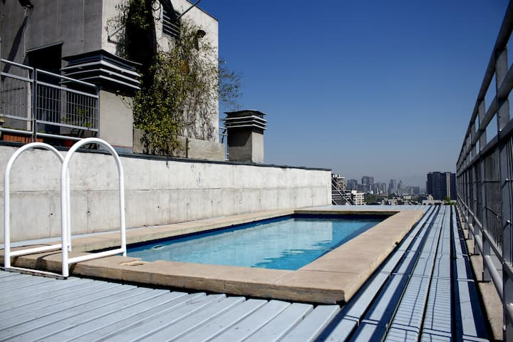 The chillest loft in Santiago