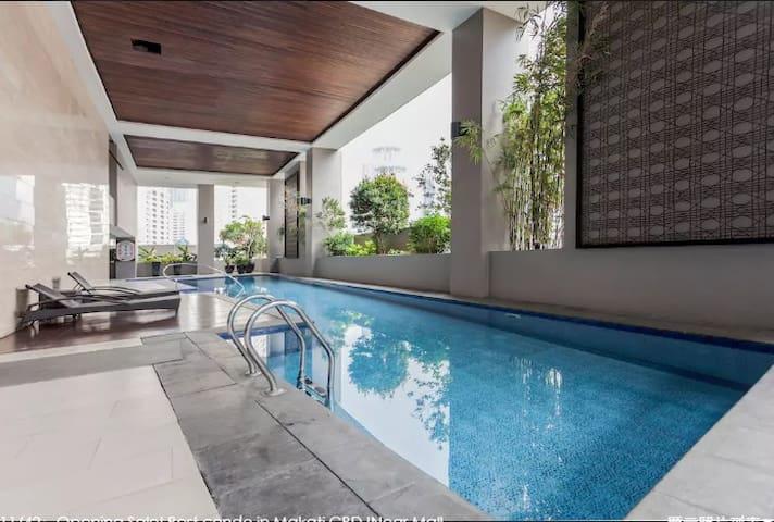 馬尼拉中心商業區,舒適公寓出租,WIFI網路,24小時門房,非常安全