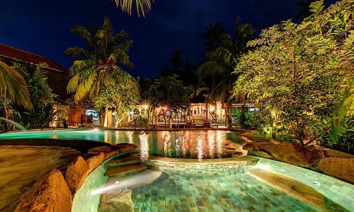 2 Bedroom Private Villa  (#1) in Ganesh Lodge