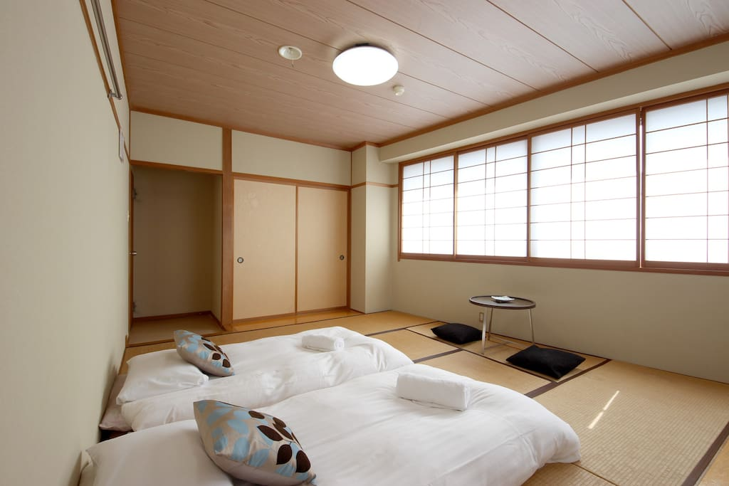 Spacious room sleeps up to 4 guests