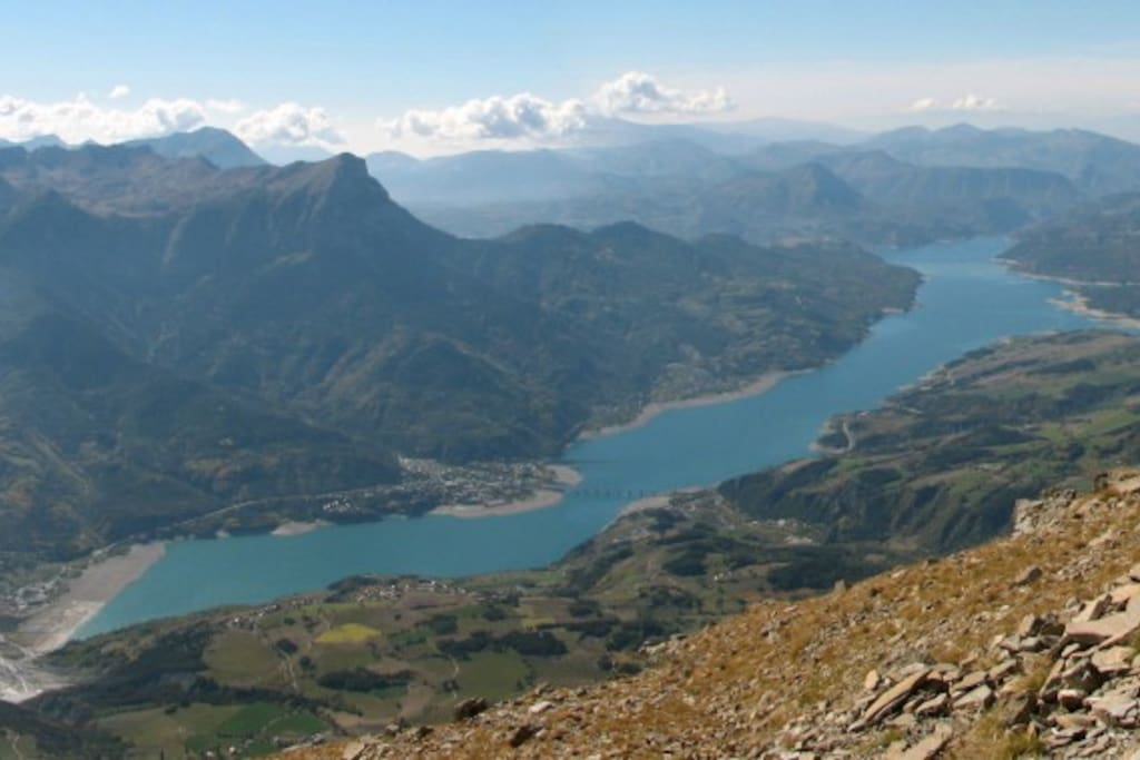 la vallée de Serre Ponçon et ses randonnées - Hiking in serre ponçon valley