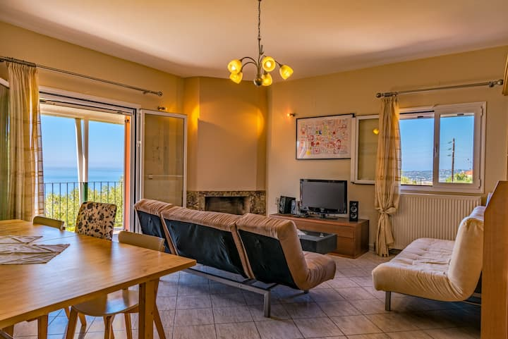 Ioannis House Sea View Perfect family holidays