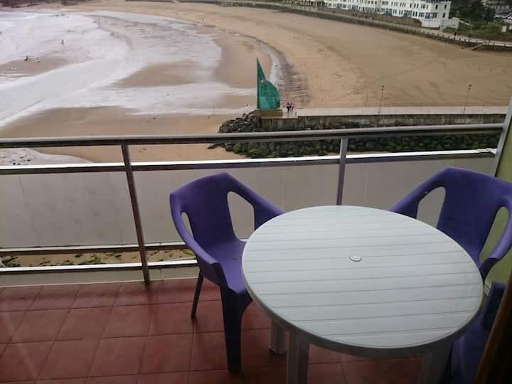Apartamento en la playa de bakio