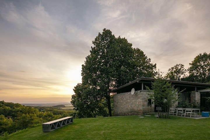 Design villa in perfect symbiosis with nature