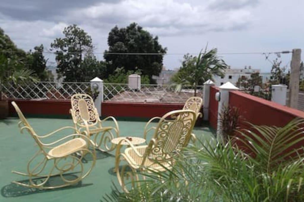 Nuestra terraza