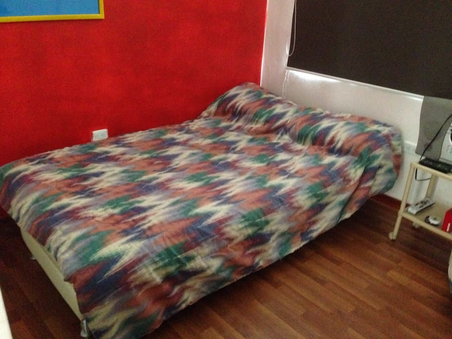 Sofa para dos personas.