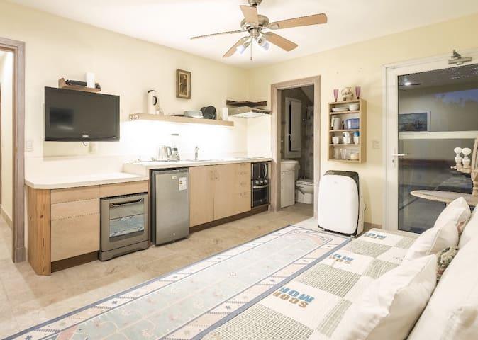 kitchen / living room / bathroom 2