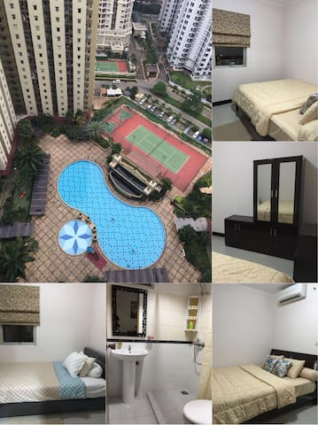 2BR 1 bathroom luxury mediterania b - Kemayoran - 公寓