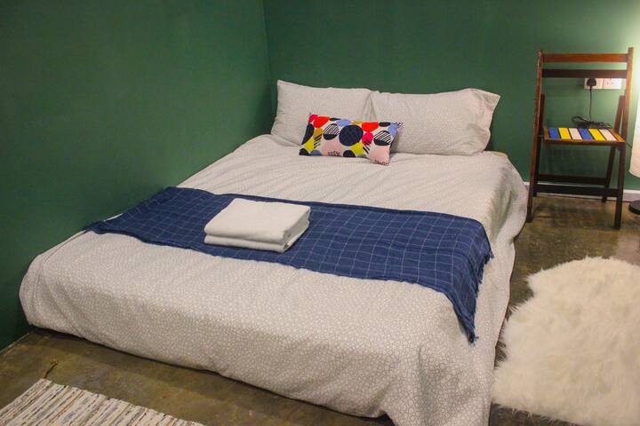 Double room (shared bathroom) @ WAKALILY Hostel