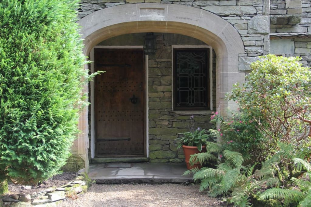 Daweswood, Patterdale, front door, Lakes Cottage Holidays