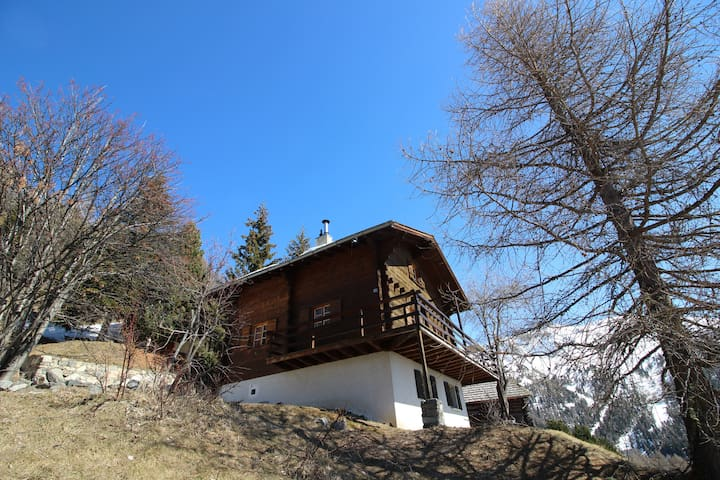 Chandolin, Chalet pour 10 avec 5 chambres - Chandolin - Xalet