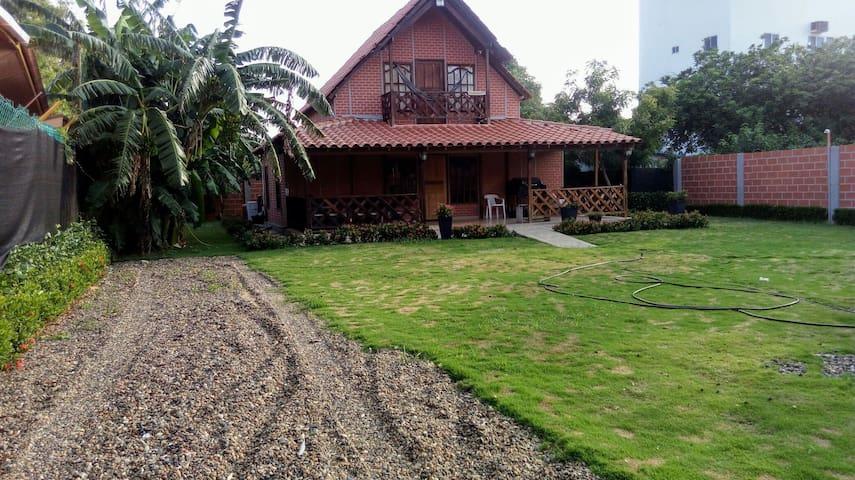 Cabaña familiar Playa Mendoza a 30 min de Quilla