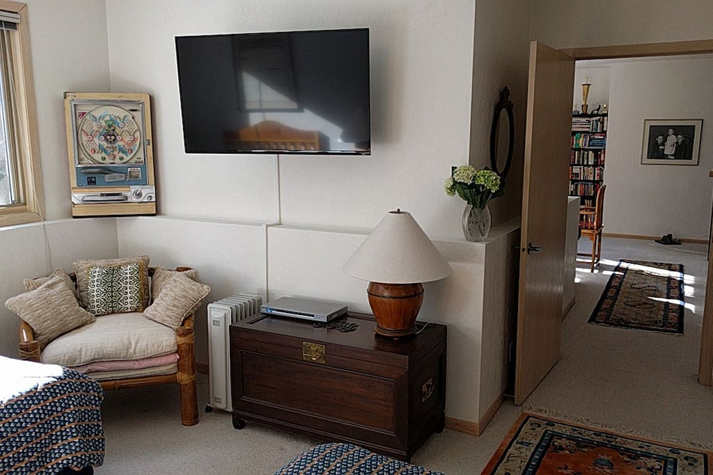 HDTV and DVD player