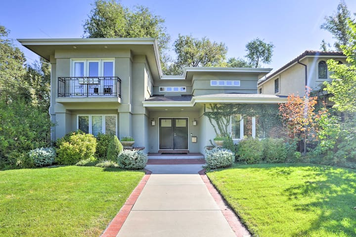 NEW! High-End Home 2Mi to Wash Park & Cherry Creek