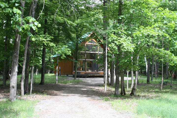Nestled in a Beautiful Wooded Area On Lake of Bays