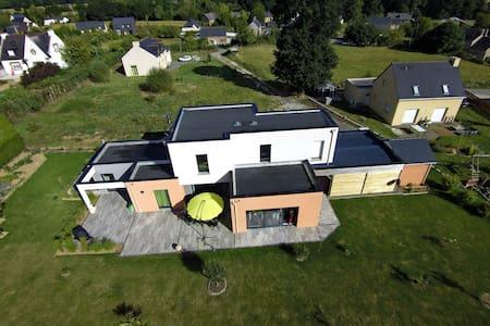 Maison Contemporaine - Saint-Thual - Hus