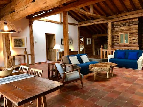 Dream loft 2 pers, in Sotosalbos 17km from Segovia