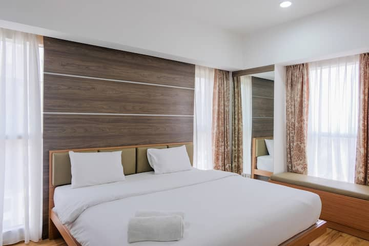 Homey 2BR Apartment at Serpong M-Town Signature