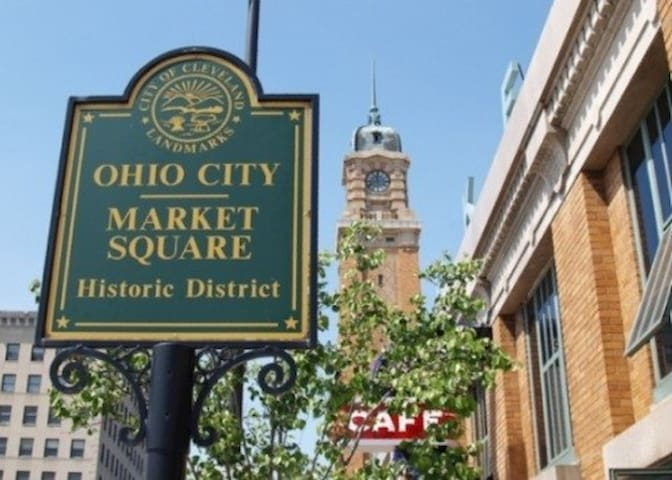 Happy days in Historical Ohio City!