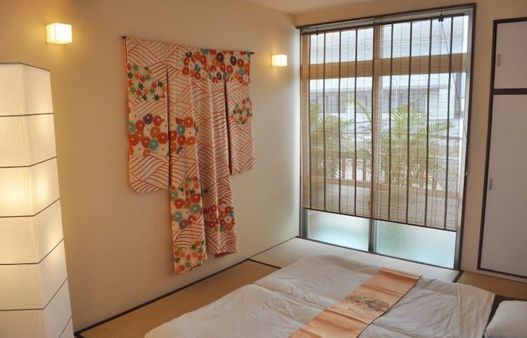 La Passione's two great tatami rooms