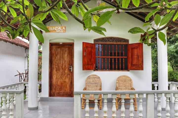 Cabana Bundala With Garden View—Weligama