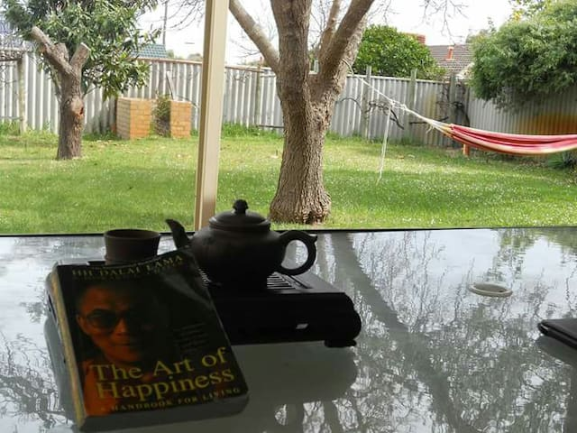 Hammock, Coffee and Book - South Lake