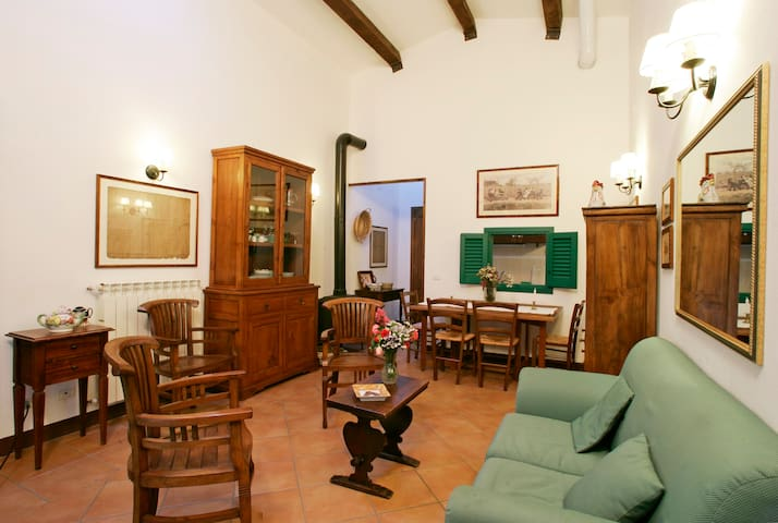 Holiday in Tuscany - Riding, biking, relax - Grotte di Castro - Appartement