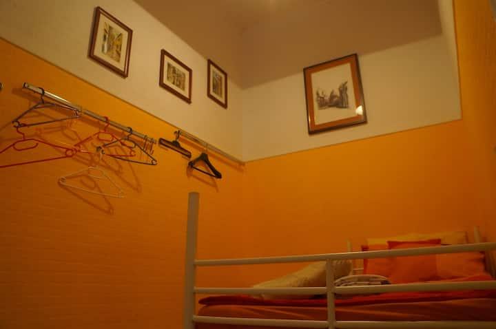 Small comfortable economic single private room.