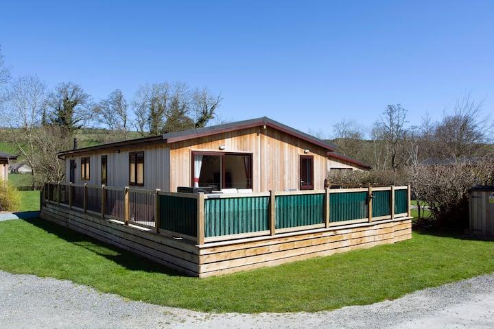 Hazel Lodge a luxury Cabin holiday