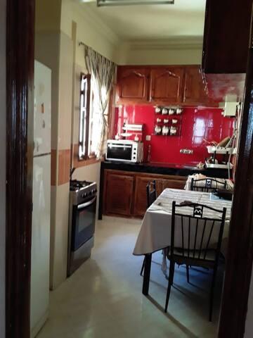 Équiped kitchen