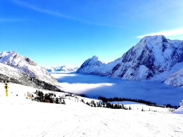Ferienwohnung im SkigebietTiroler Zugspitz Arena