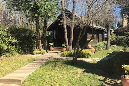 Romantic cabin in the woods near Istanbul airport