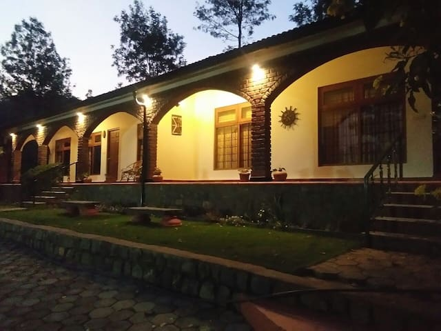 Deluxe Room in middle of Tea Plantation