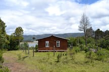 Cabaña para 5, con vista al antiguo Guatavita