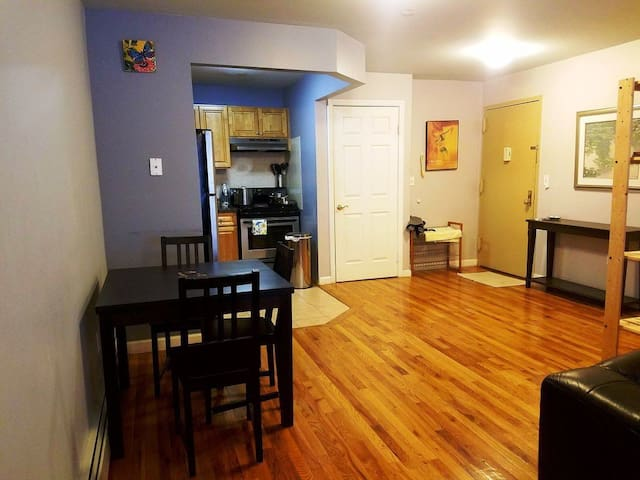 Condo Apartment with Laundry and Assigned Parking