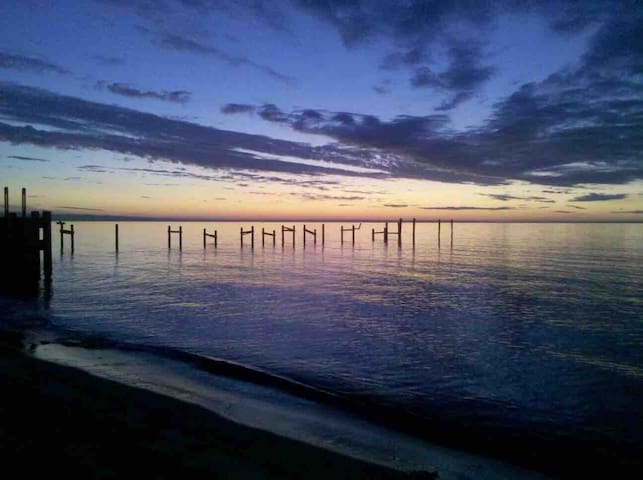 Stress free towards morning.!!!  Hamptons Sunrise...