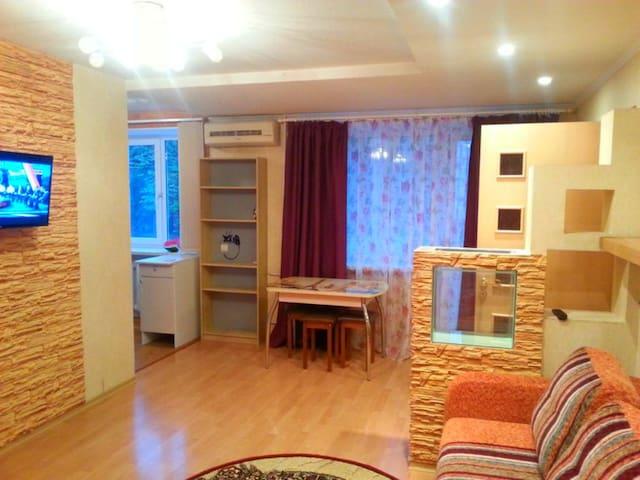 Квартира ЕВРО-ДВУШКА - студия в ЦЕНТРЕ ГОРОДА - Velikiy Novgorod - Apartment