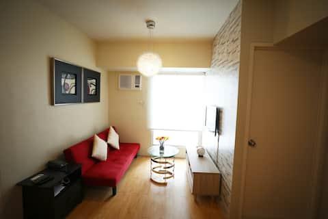 Cozy 1 Bedroom  35sqm apt Avida Cebu I.T Park Wifi