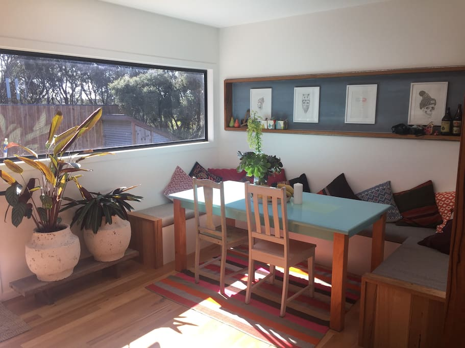 Dinning booth-seats 8 guests