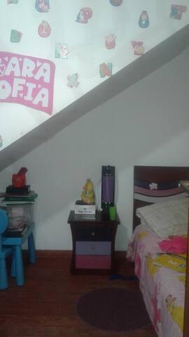 habitación casa familiar