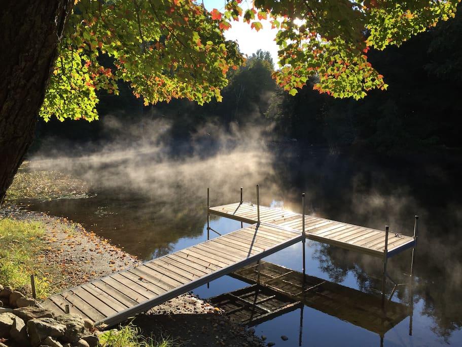 Dock in the fall